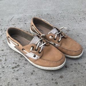 Rose Gold Sperry Boat Shoe